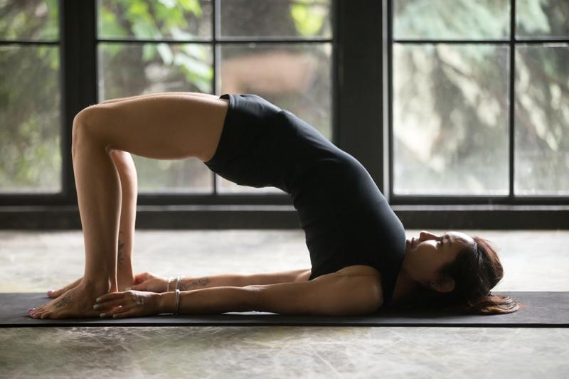 Yoga bloating