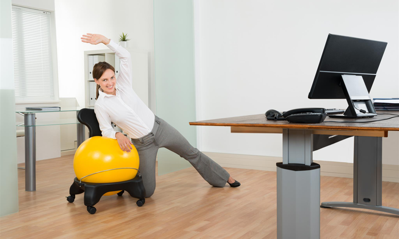 Benefits Of Using A Yoga Ball Chair Ana Heart Blog