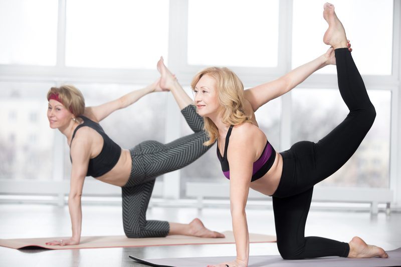 yoga aging