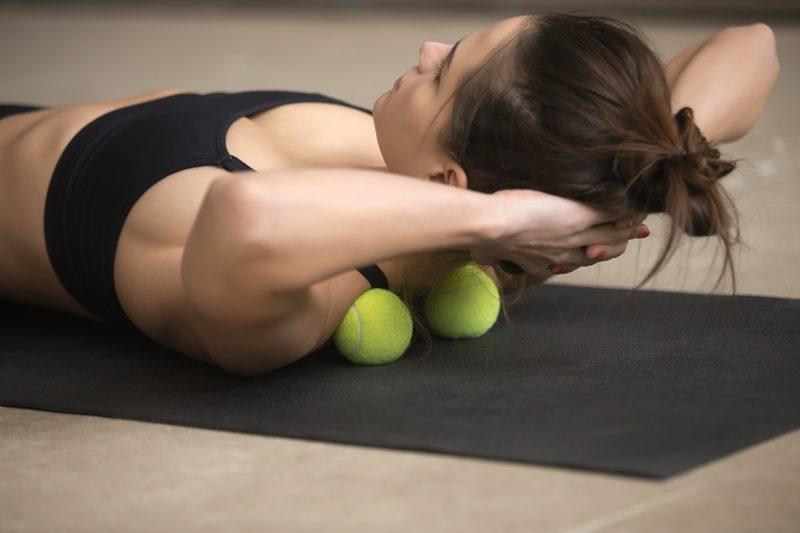 yoga ease neck