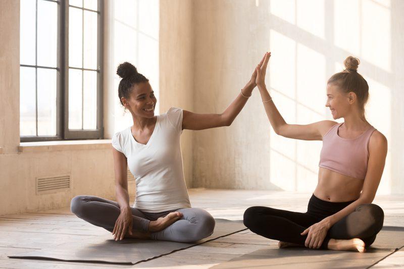 Yoga prepare first yoga class