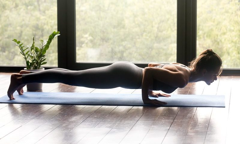 How to do Chaturanga Dandasana