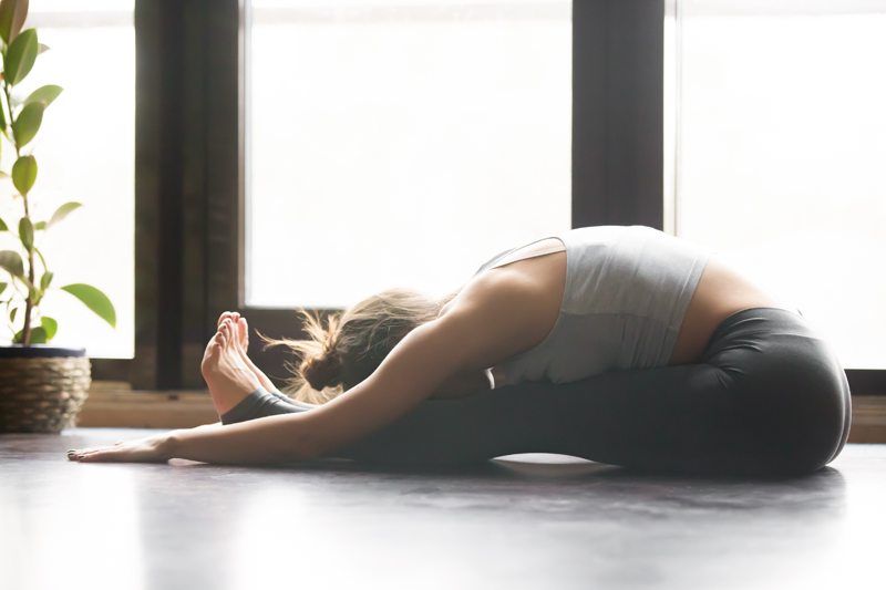 Yoga Practice and the Appreciation of the Body in a Forward Fold
